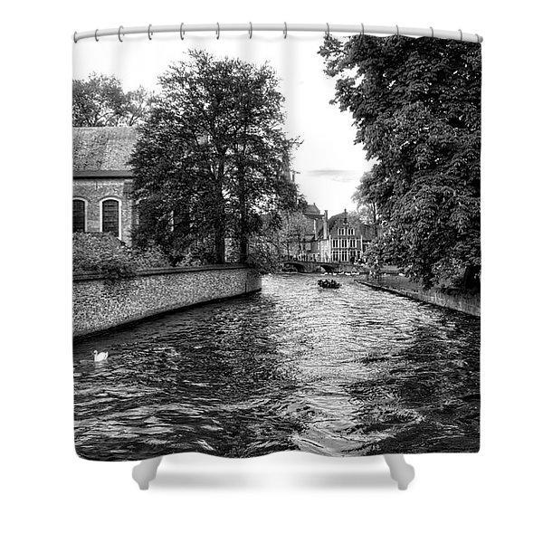 Bruges Bw2 Shower Curtain