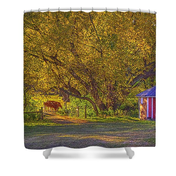 Brunner Organic Family Farm Shower Curtain