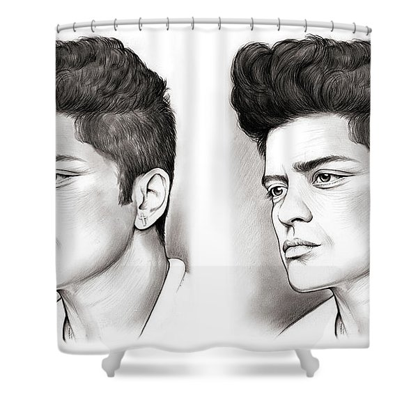 Bruno Double Shower Curtain