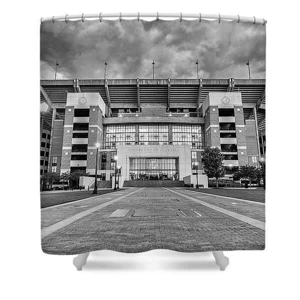 Bryant - Denny Stadium -- Walk Of Champions Shower Curtain