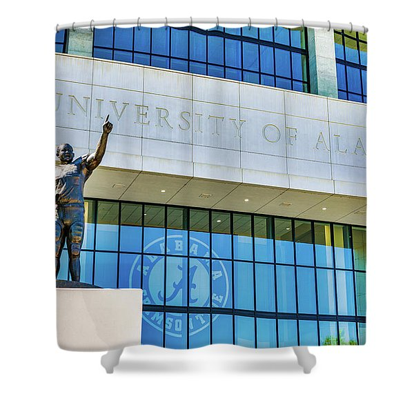 Bryany-denny Stadium Shower Curtain
