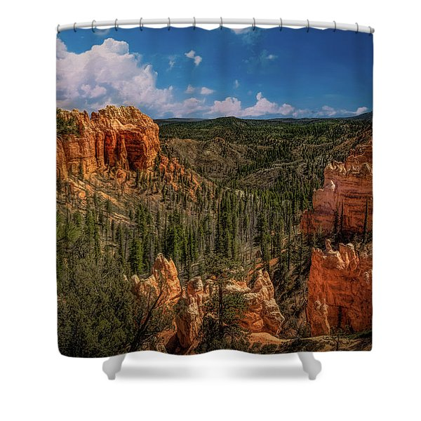 Bryce Canyon From The Top Shower Curtain