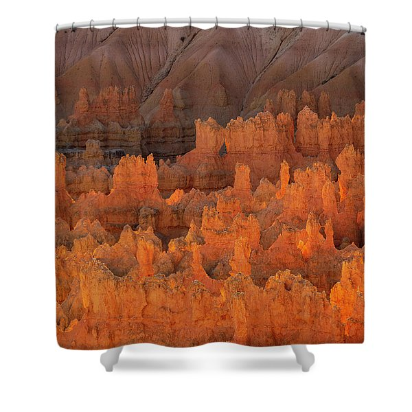 Bryce Hoodoos Shower Curtain