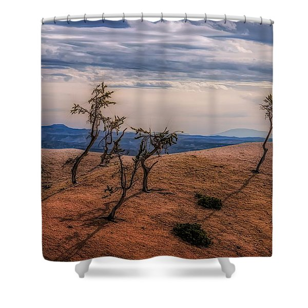 Bryce Landscape Shower Curtain