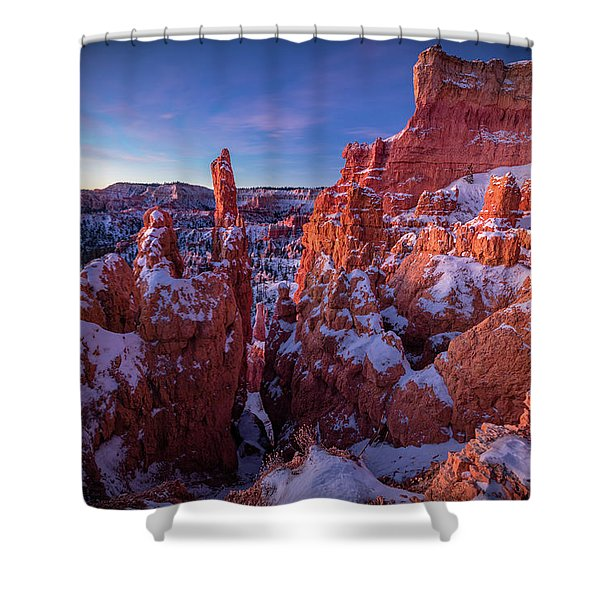 Bryce Tales Shower Curtain