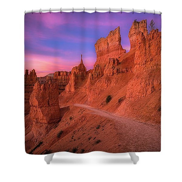 Bryce Trails Shower Curtain