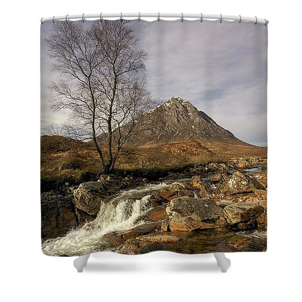 Buachaille Etive Mor Shower Curtain