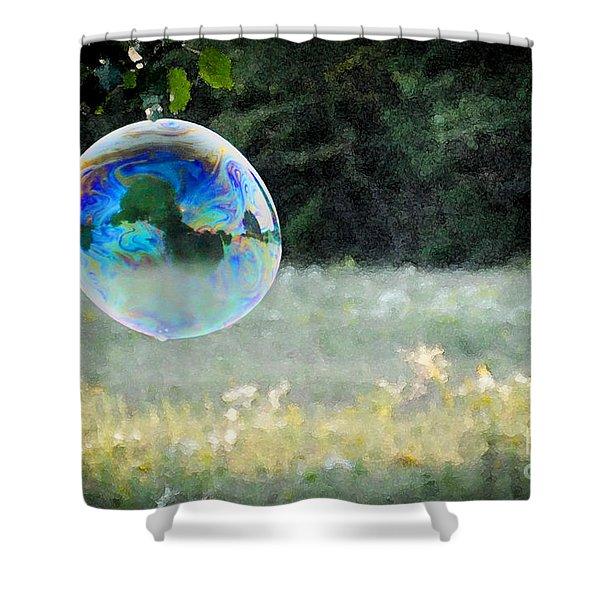 Bubble Shower Curtain
