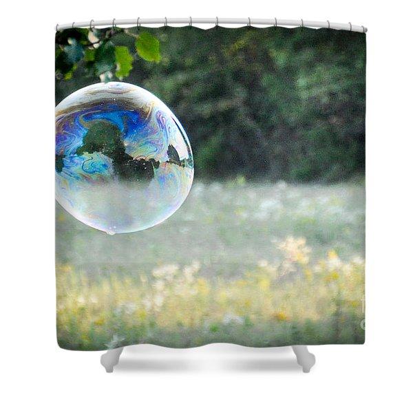 Bubbles - 1 Shower Curtain