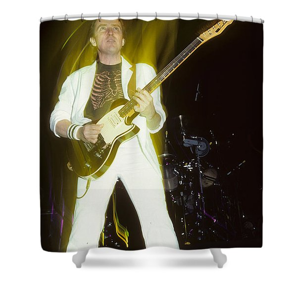 Buck Dharma Of Blue Oyster Cult Shower Curtain