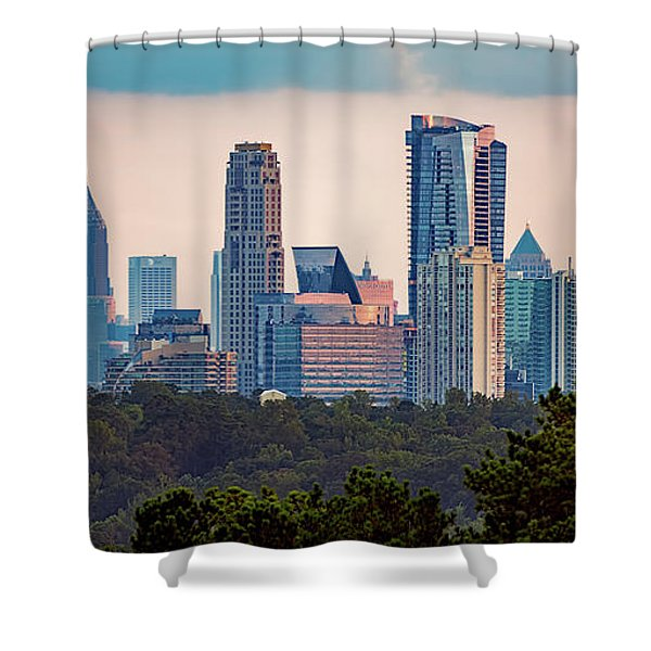 Buckhead Atlanta Skyline Shower Curtain