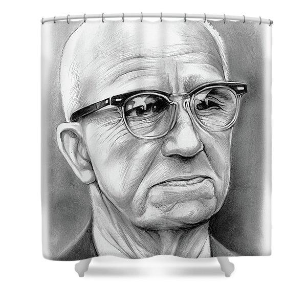 Buckminster Fuller Shower Curtain