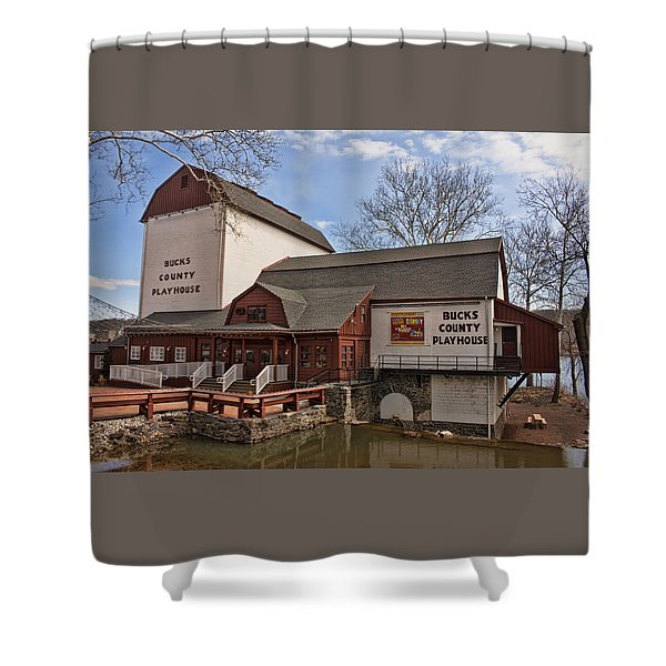 Bucks County Playhouse I Shower Curtain
