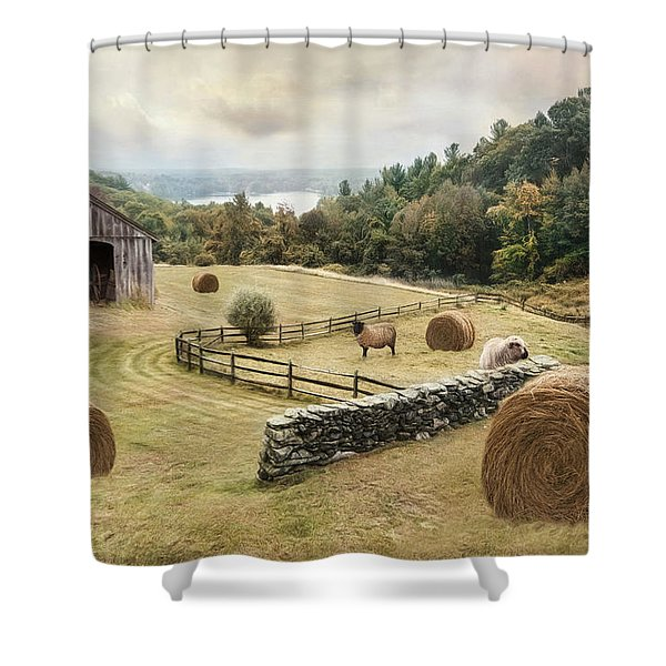 Bucolic Shower Curtain