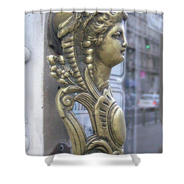 Budapestlady Shower Curtain