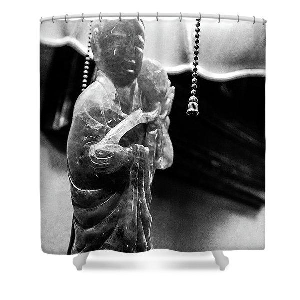 Buddha's Light Shower Curtain