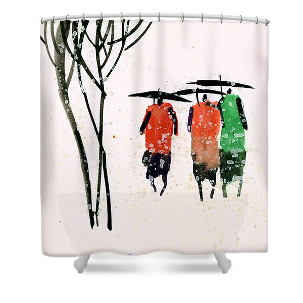 Buddies 3 Shower Curtain