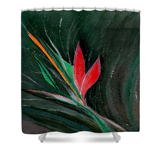 Budding Shower Curtain