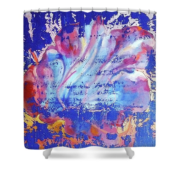 Bue Gift Shower Curtain