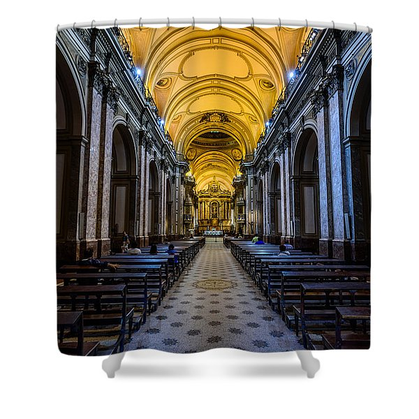 Buenos Aires Metropolitan Cathedral Shower Curtain