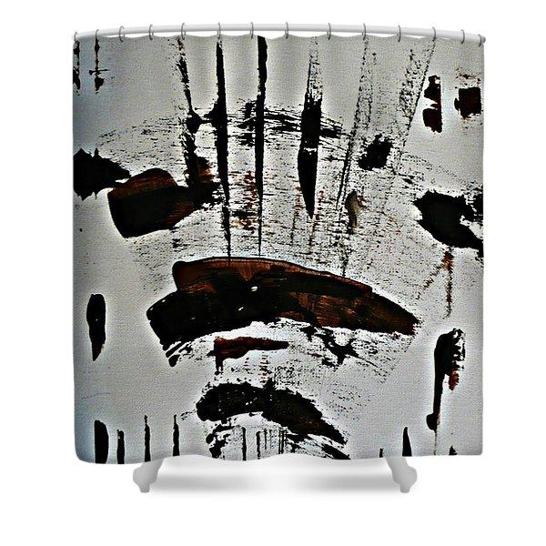 Buffalo Run Shower Curtain