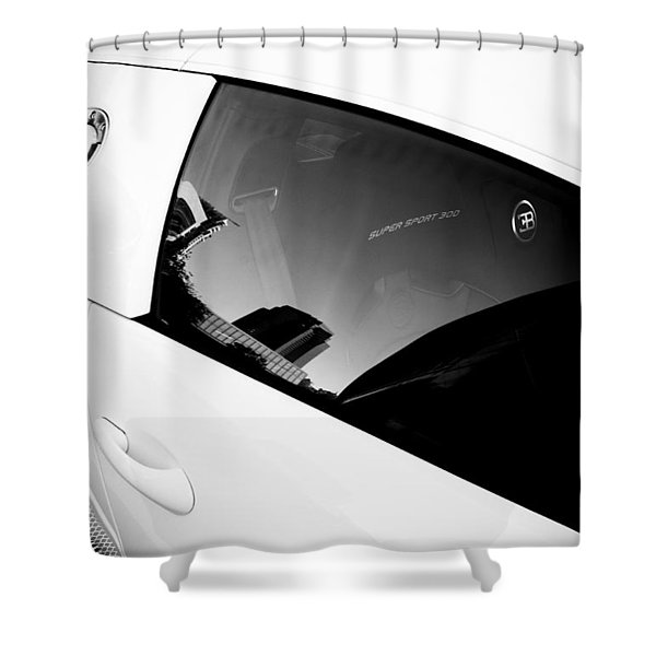 Shower Curtain featuring the photograph Bugatti Veyron 16.4 by Michael Hope