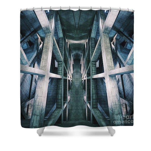 Building A Building Shower Curtain