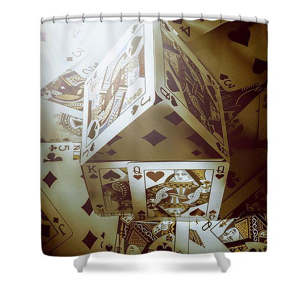 Building Odds Shower Curtain