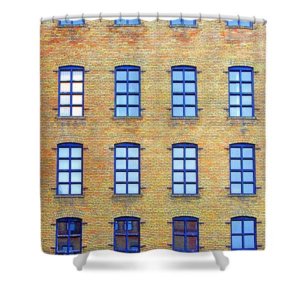 Building Windows Shower Curtain