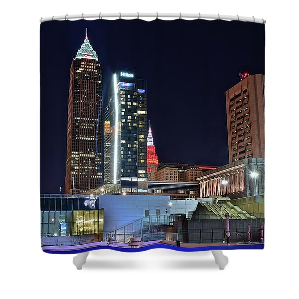 Buildings New And Old Shower Curtain