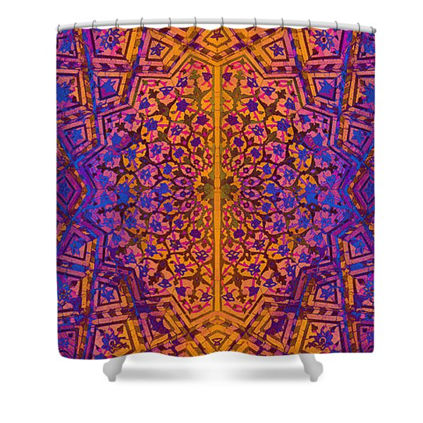 Bukhara Flower Dome Mug Shower Curtain