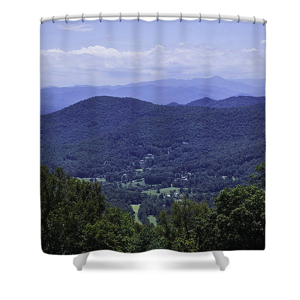 Bull Creek Valley Shower Curtain
