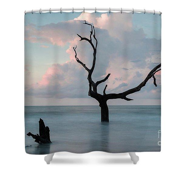 Bull Island Dawn Shower Curtain