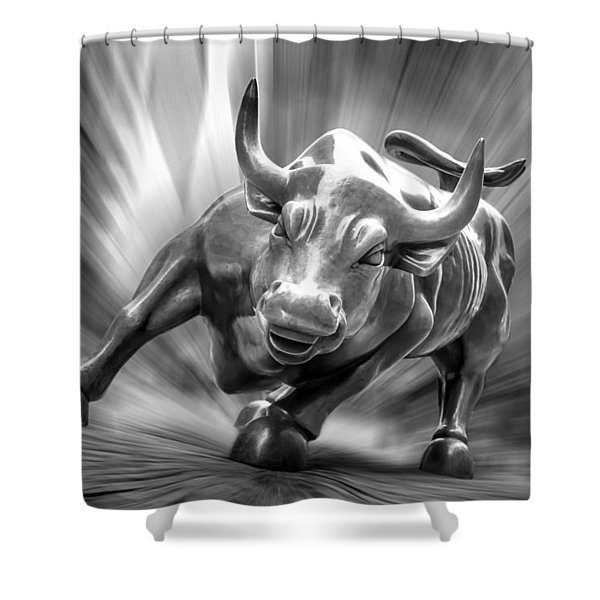 Bull Market Shower Curtain