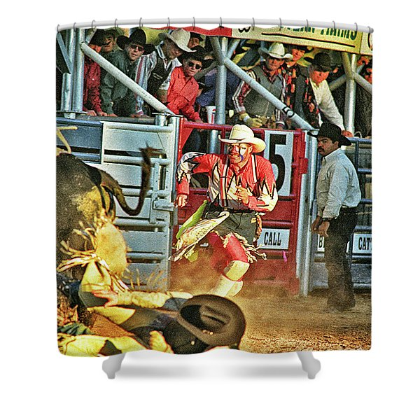Bullfighter Shower Curtain