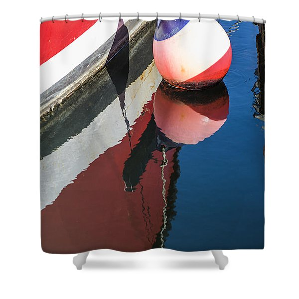 Bumper Shower Curtain