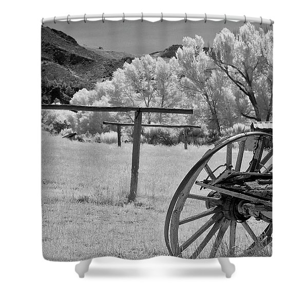 Bumpy Ride Shower Curtain
