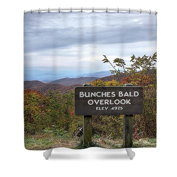 Bunches Bald Shower Curtain