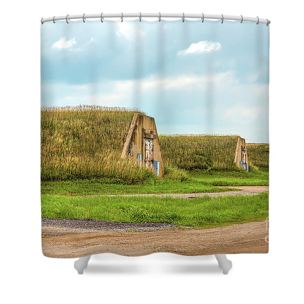 Bunkers Shower Curtain