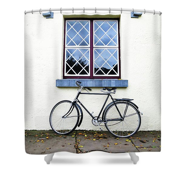 Bunratty Bike Shower Curtain