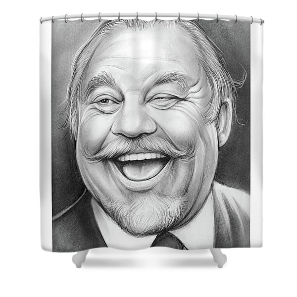 Burl Ives Shower Curtain