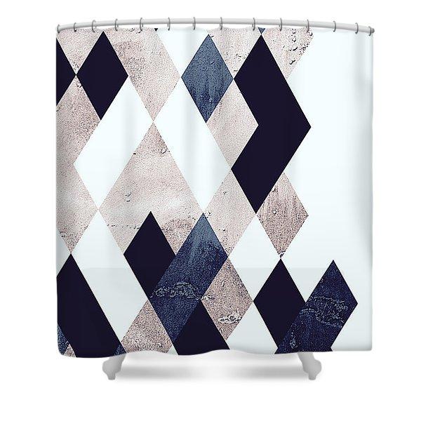 Burlesque Texture Shower Curtain