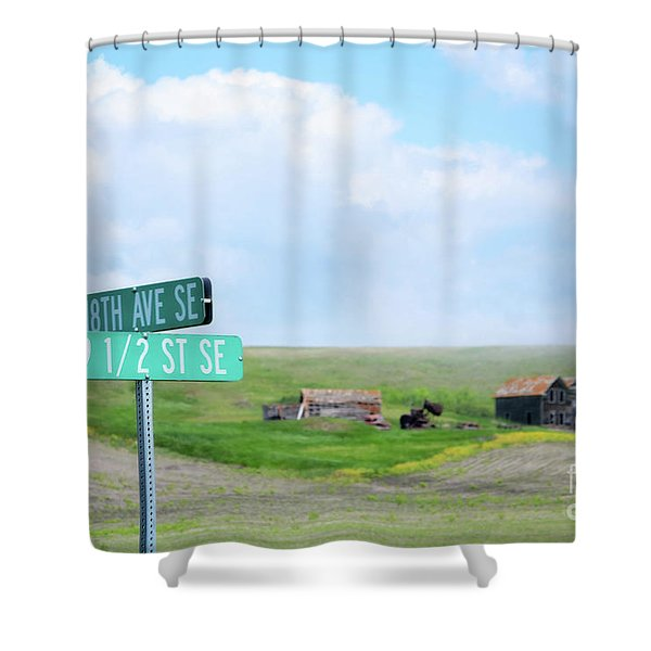 Busy Intersection Shower Curtain