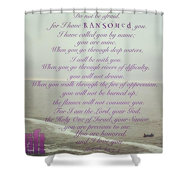 But Now, O Jacob, Listen To The Lord Shower Curtain