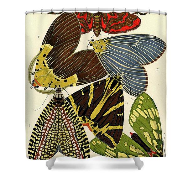 Butterflies, Plate-14 Shower Curtain