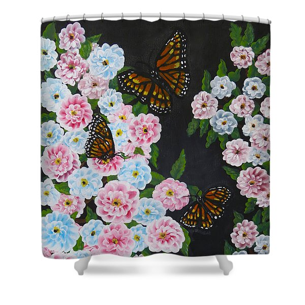 Butterfly Beauty Shower Curtain