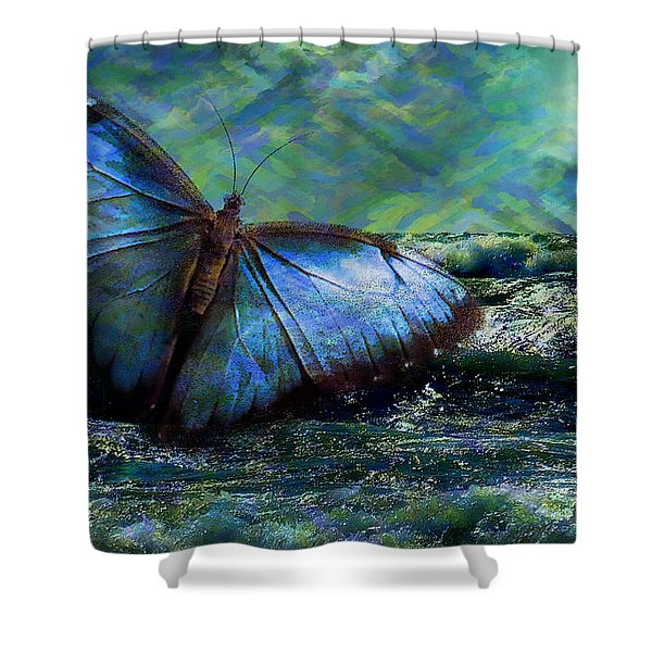 Butterfly Dreams 2015 Shower Curtain