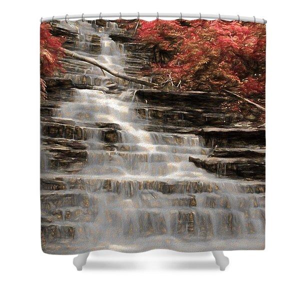 Buttermilk Falls Shower Curtain