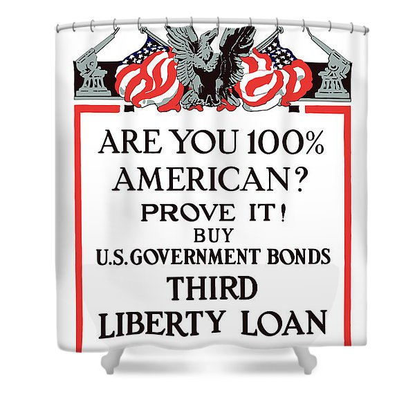 Buy U.s. Government Bonds Shower Curtain