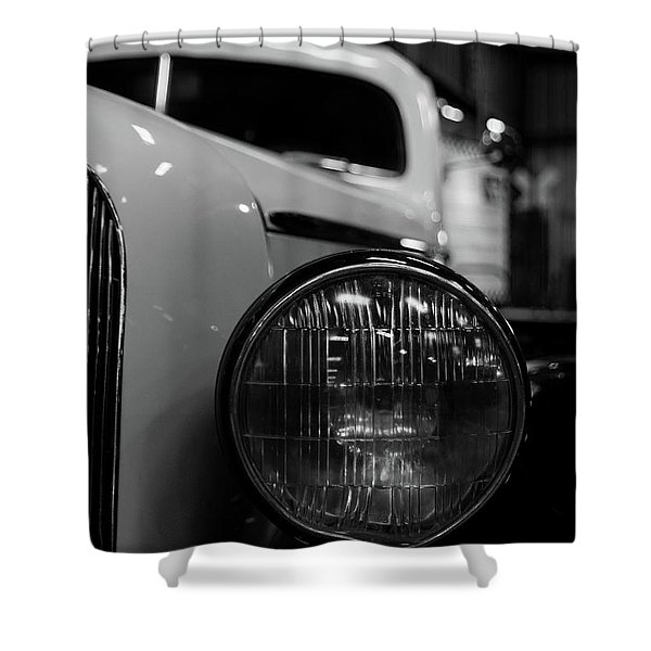 Bw Taxi Shower Curtain
